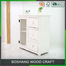 Industrial Display Handmade Wood Cabinet Small Drawer Living Room Furniture