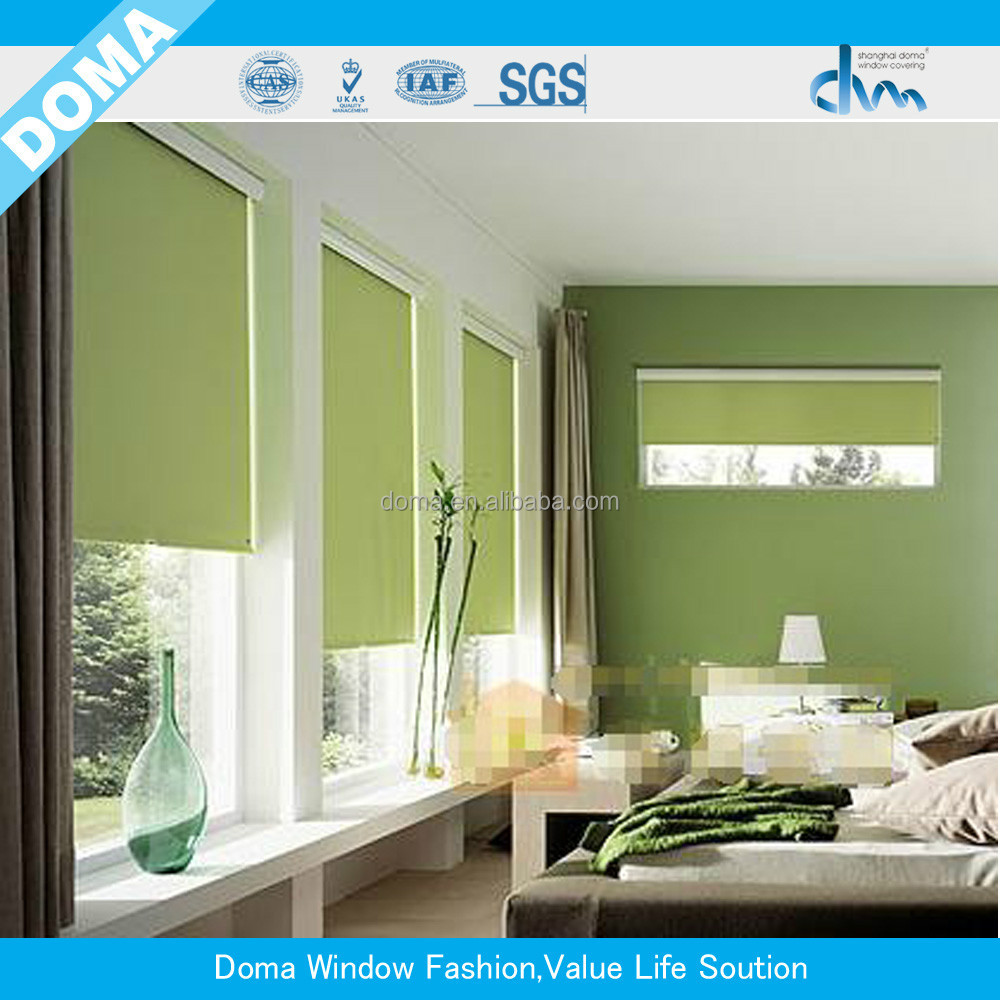 2015 Durable Slat Fabric Roller Blind