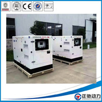 Water-cooled 12kva 3 phase silent diesel generator with Perkins 403A-15G