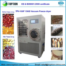Pharmaceutical Herbal Freeze Vacumm Dryer TPV-100F medium oil heating lyophilizer Vacuum Freeze Dryer