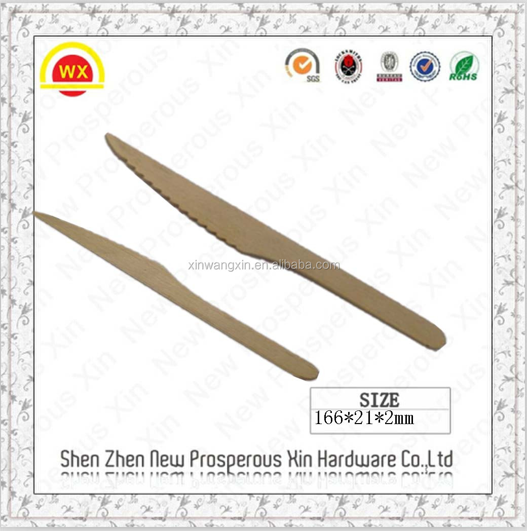 Wholesale factory best price disposable wooden cutlery