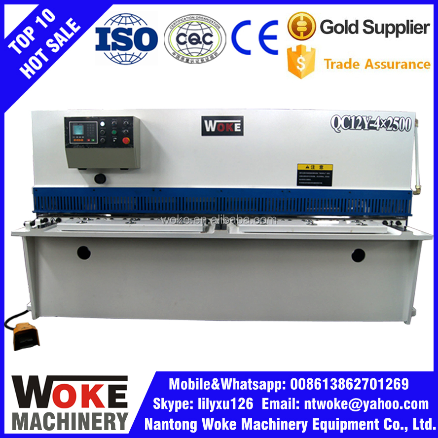 Hydraulic MS Sheet Cutting Machine, SS Sheet Cutting Machine, Sheet Shear Machine for Sale