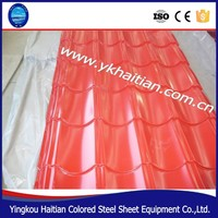 High class Colored Steel tile used for roof, Galvanized corrugated roof sheet,PPGI roof shingle made in China