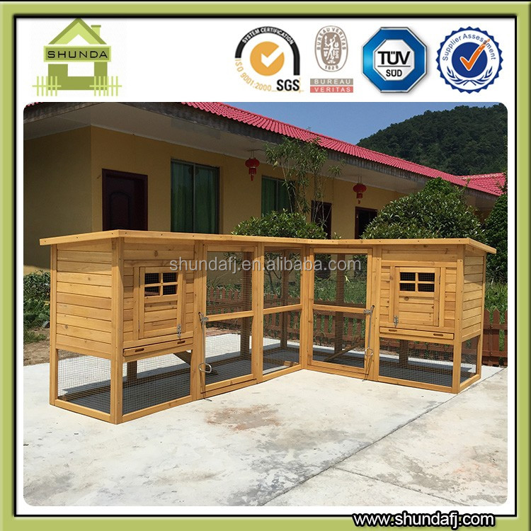 Commercial Wooden chicken houses