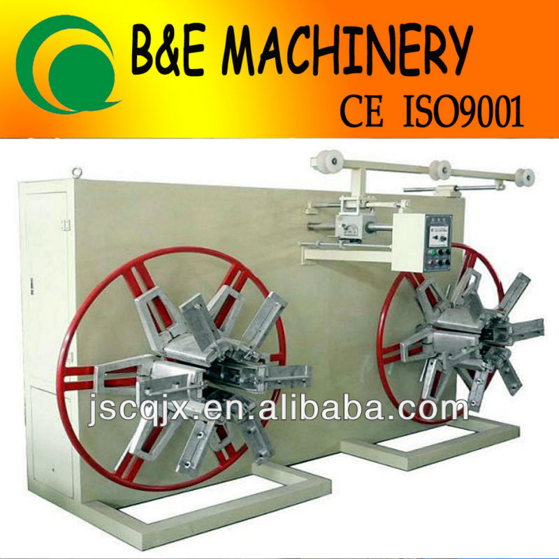 SPS DOUBLE DISK WINDER (WINDING MACHINE,PIPE WINDER,PIPE COILER)