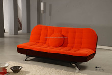 Contemporary Fabric or leather fold cheap sofa bed XYN959