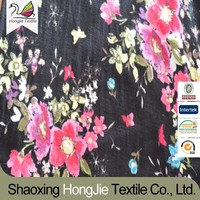 viscose+spandex printed knitted fabric