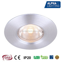 anti-glare 45mm cutout dimmable mini led downlight