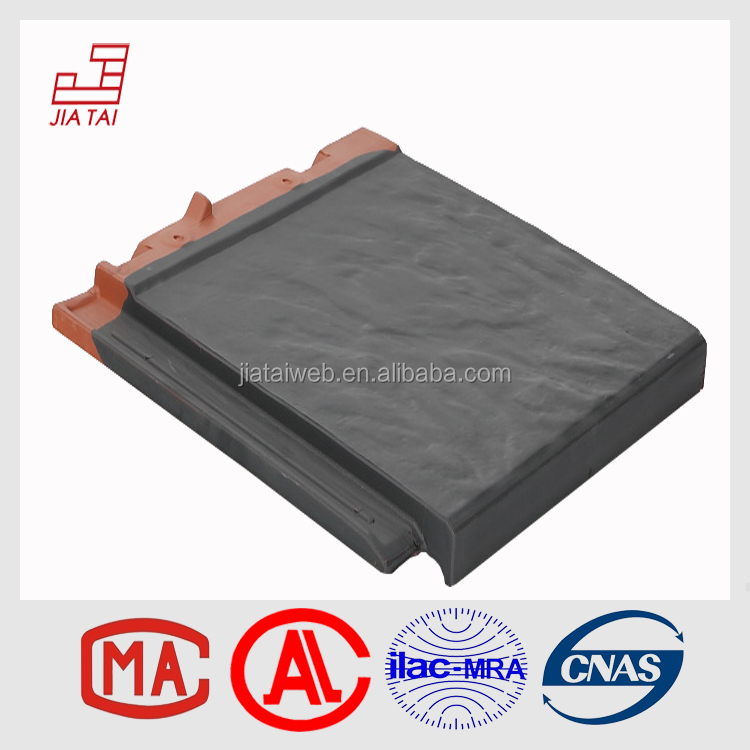 FS-5B88 China factory direct dark blue clay roof tiles for sale
