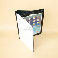 Manufacturer Blank Sublimation Leather Pouch Case Book Cover Tablet Case for Ipad