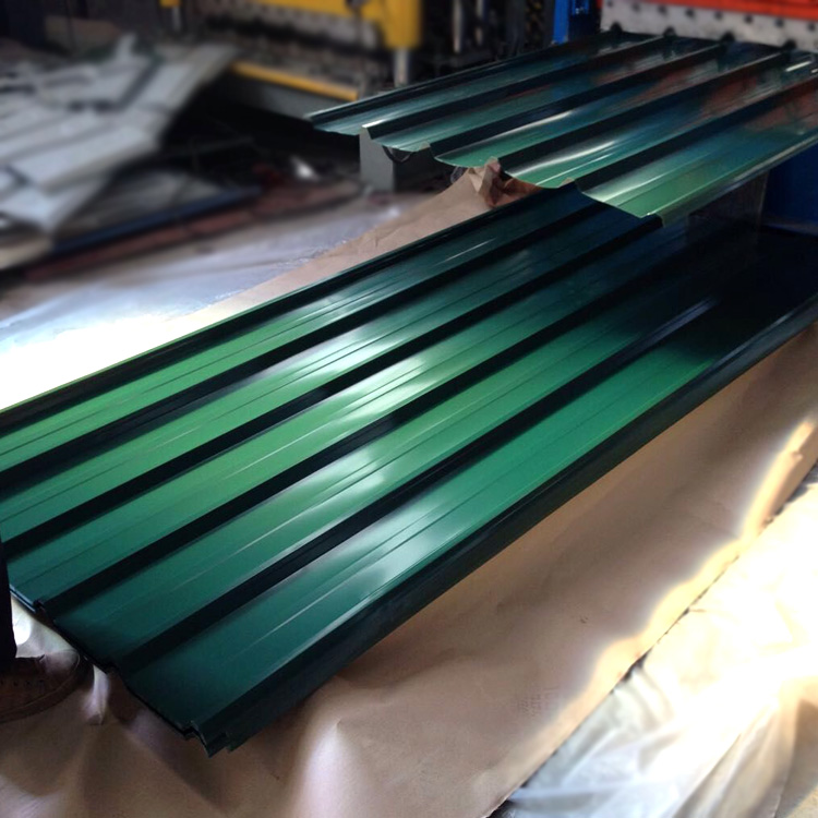 Painted Galvanized Roof / PPGI Corrugated Iron Sheet for Panel