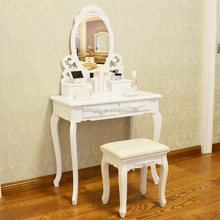 Wall Mounted Makeup Simple Wooden Dressing Table Designs