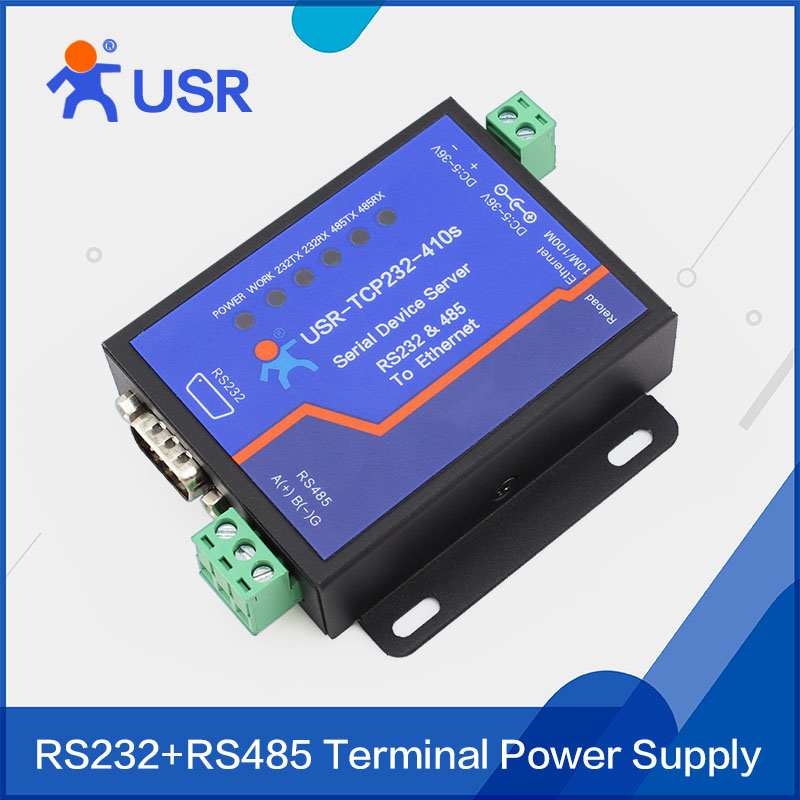 USR-TCP232-410S Serial RS232 RS485 to TCP/IP Ethernet Server