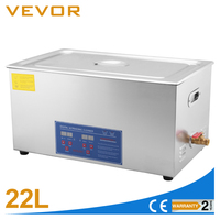 Capacity 22L Digital Ultrasonic Cleaner Machine with Timer
