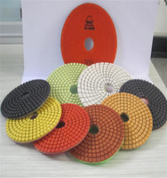 Wholesale high quality granite polishing pads