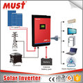 Single phase must high frequency 4KVA 48Vdc ON and off grid pure sine wave hybrid solar inverter