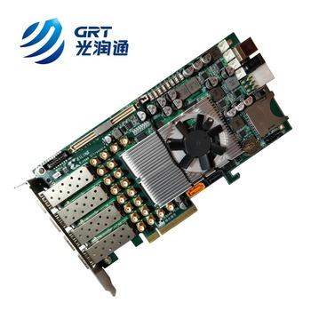 Latest version programmable FPGA Board 4 port SFP+ based on Xilinx chip