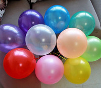 12 inch party decoration 100% nature latex inflatable balloon, Happy birthday latex free balloons