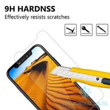 Mobile Phone Premium Tempered Glass for iPhone X High Clear Touch Screen Protector Film