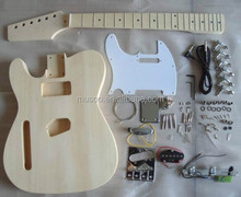 PROJECT ELECTRIC GUITAR BUILDER KIT DIY WITH ALL ACCESSORIES For LEFT HANDED STYLE( K18)