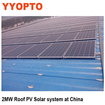 stand alone PV solar system 1000W support by high efficiency 250W poly solar panel.