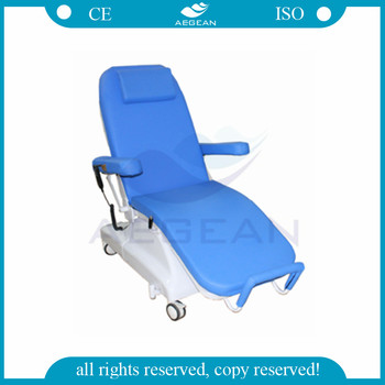 AG-XD301 CE ISO approved mobile cheap adjustable electric hospital chair