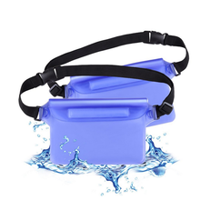 Waterproof Waist Bag Case Pouch Clear pvc sports waist bag / transparent belt bag