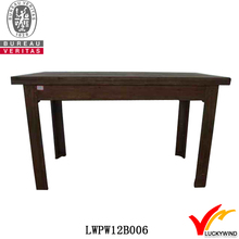 recycled rustic wood dining table furniture fujian