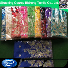 China suppliers textile with embroidery designs india george wrappers indian embroidery lace fabric
