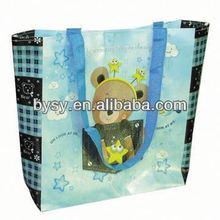 Custom-made 2012 supermarket foldable shopping cart bag