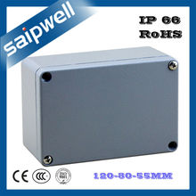 Saip/Saipwell 120*80*55mm Wall Mounted Aluminum Metal Switch Box