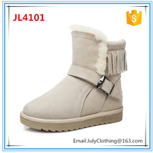2017 Winter Cheap European Style Colorful Snow Boots for Women