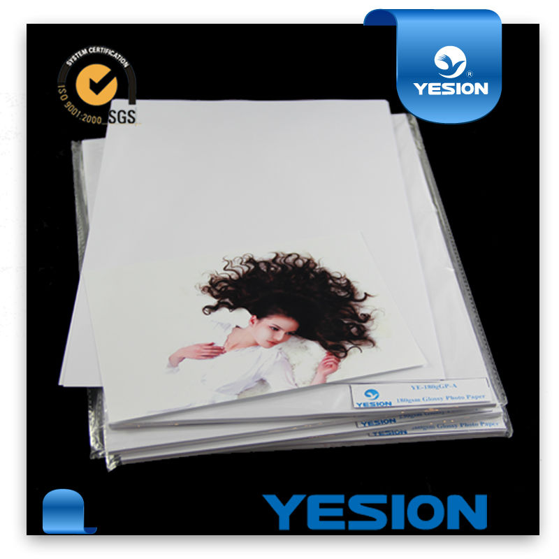 2014 230gsm A4 A3 4*6 glossy buy photo paper /RC photo paper /lucky PHOTO PAPE China manufature oem price