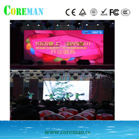 p8 smd led panel DIP 3in1 160*320mm screen led flexible ball stage decoration pillars