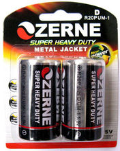 dry cell battery R20 D SIZE