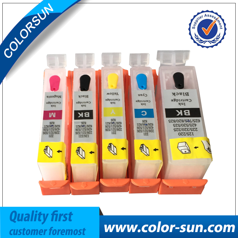 refillable ink cartridge with chip for HP 10/11/12/13/14/82/83/84/85/88