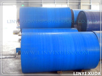 HDPE woven +LDPE laminating blue pe tarp roll with UV