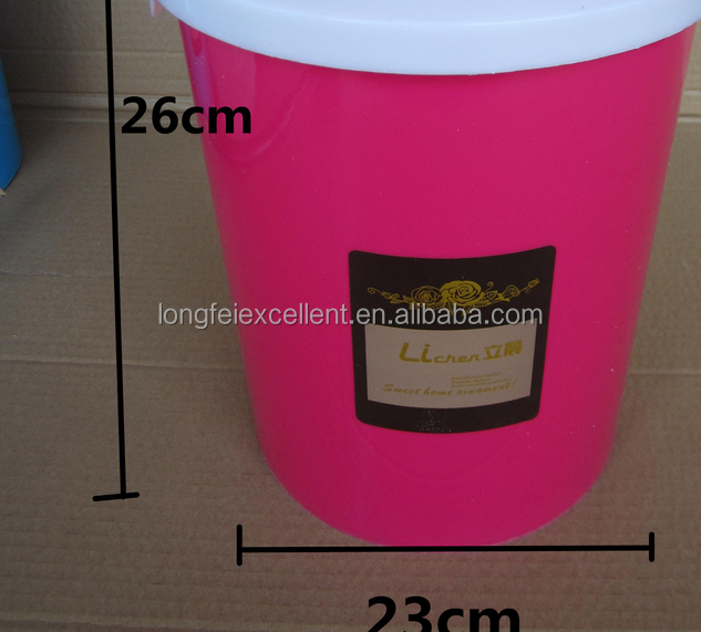 Colorful Clothing Donation Bin with Damper System