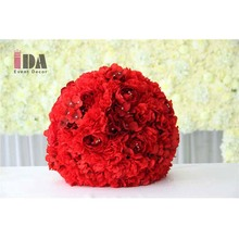 45cm red wedding centerpiece decorative candelabra flower ball wholesale