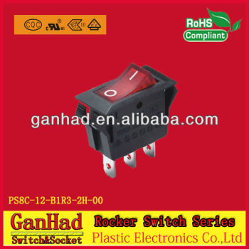 Taiheng rocker switch t85 for electric fireplace