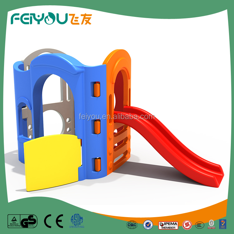 Made in China fun and attractive Integrated indoor playground plastic children slide from Feiyou for sale from Feiyou Amusement