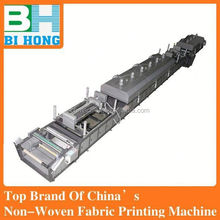 Fully automatic multifunction self-colored screen printing machine