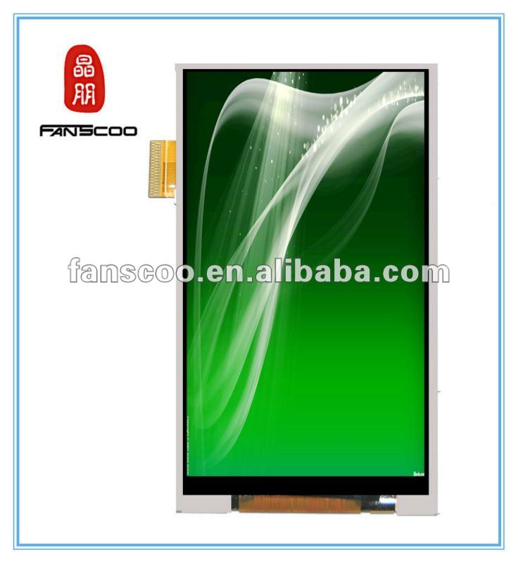 "High quality 3.5"" mobile phone ipod touch 4 ego t lcd"