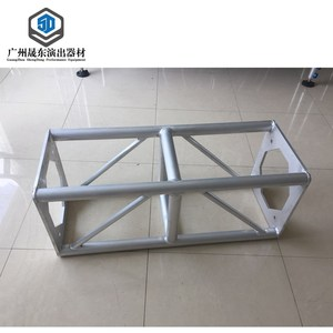 Light aluminium fabricated roof fair dj stand truss