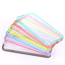 "For iPhone 6 4.7"" Ultra Thin 0.5mm Crystal Transparent Mobile Phone Cover"