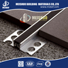 Easy to install aluminum alloy profile waterproof brick floor movement joints