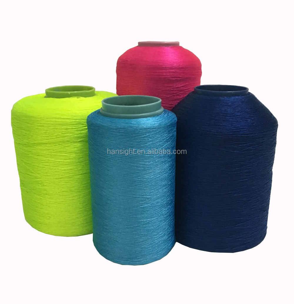 600D polyester warp yarn FDY for knitting shoe upper