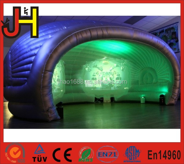 Commercial 0.6mm PVC Tarpaulin Cheap Inflatable Lawn Dome Tent For Sale