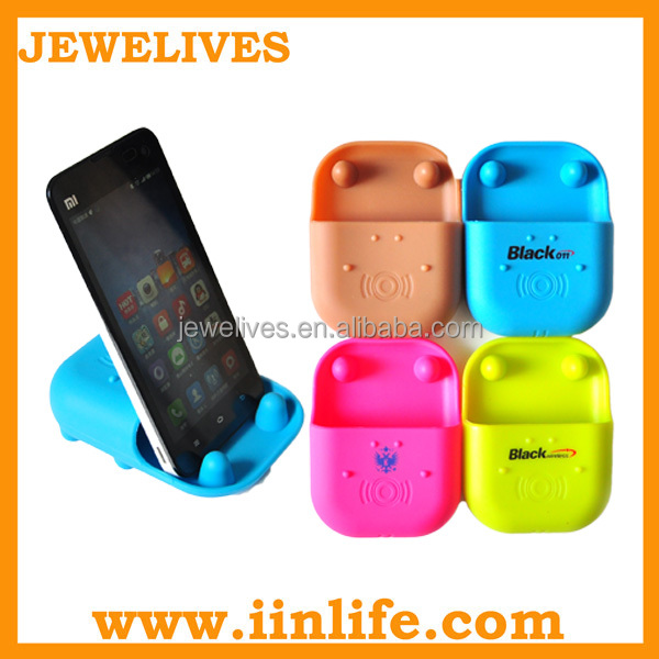 For iphone 6 accessories silicone table cell smart phone stand