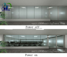 Sell laminated glass with PDLC smart film for office partition,bathroom